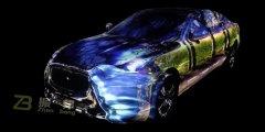 车体投影_3D车体投影_3d全息立体投影