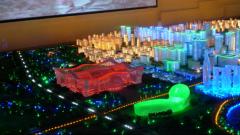 LED水晶沙盘_数字水晶沙盘_水晶沙盘模型