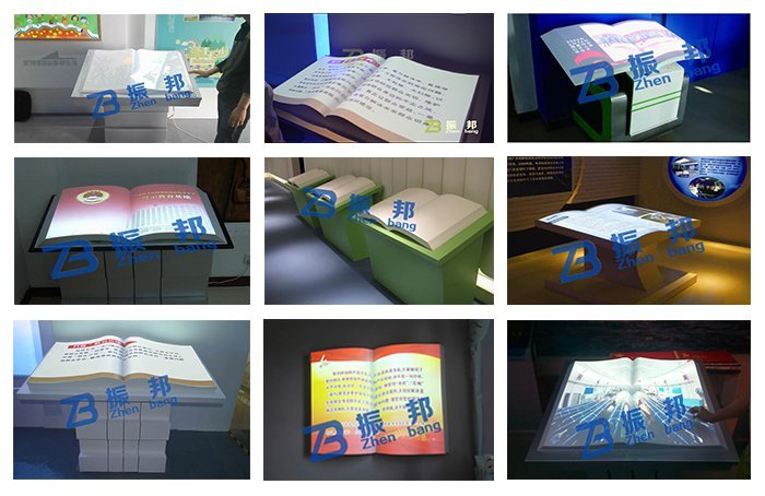 教学及图书馆设备 电子白板 电子翻书虚拟翻书      体感翻书视频演示